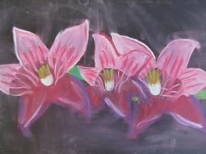 Barbora Černá - Květy lilie