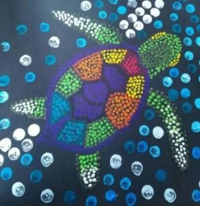 Anna Strojná- Želva od Austrálců