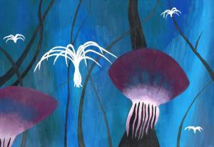 Natalie Straková - Modrý les