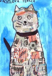 Terezka Vachtlová - Kočka na čtení